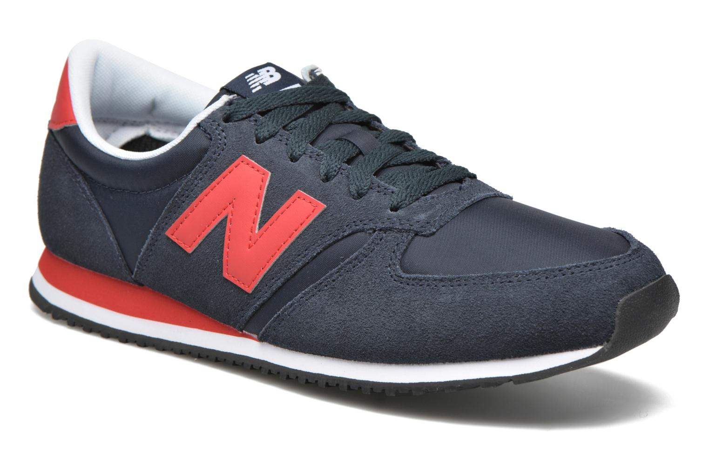 Sneakers New Balance U420 Blå detaljeret billede af skoene