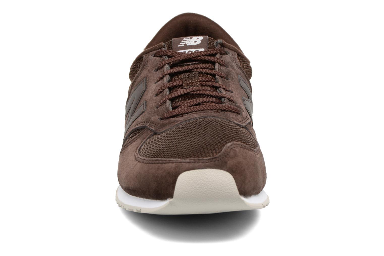 Sneakers New Balance U420 Brun se skoene på
