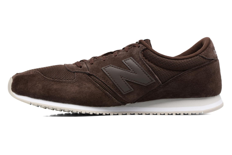 Sneakers New Balance U420 Bruin voorkant