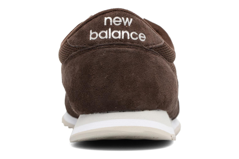 Baskets New Balance U420 Marron vue droite