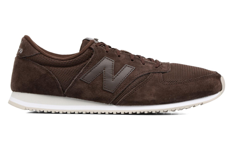 Sneaker New Balance U420 braun ansicht von hinten