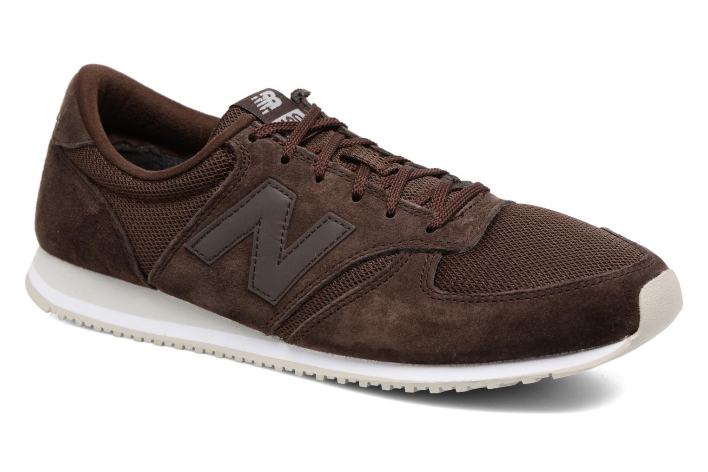 Sneakers New Balance U420 Brun detaljeret billede af skoene