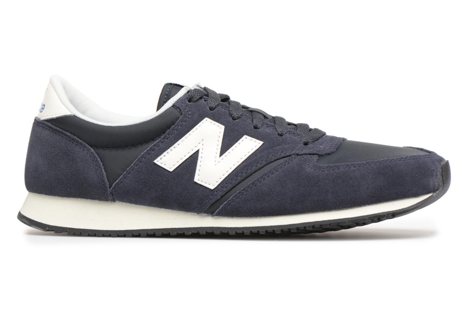 Sneakers New Balance U420 Blauw achterkant