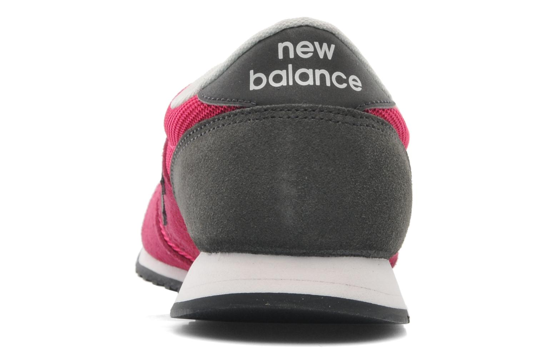 Baskets New Balance U420 W Rose vue droite