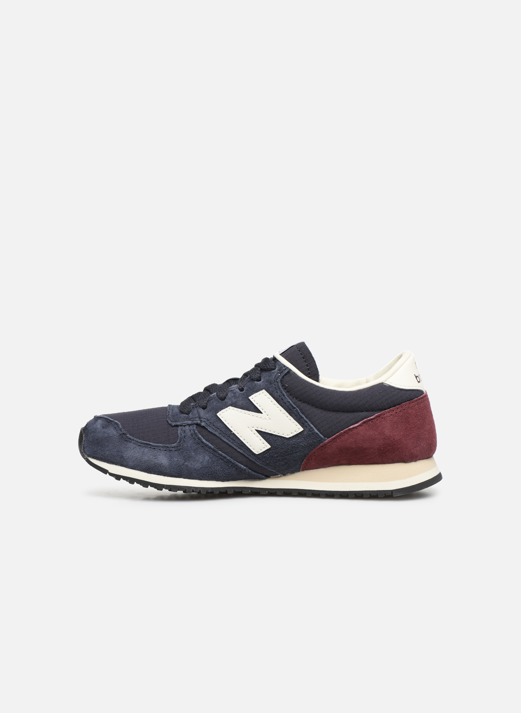 Baskets New Balance U420 W Bleu vue face