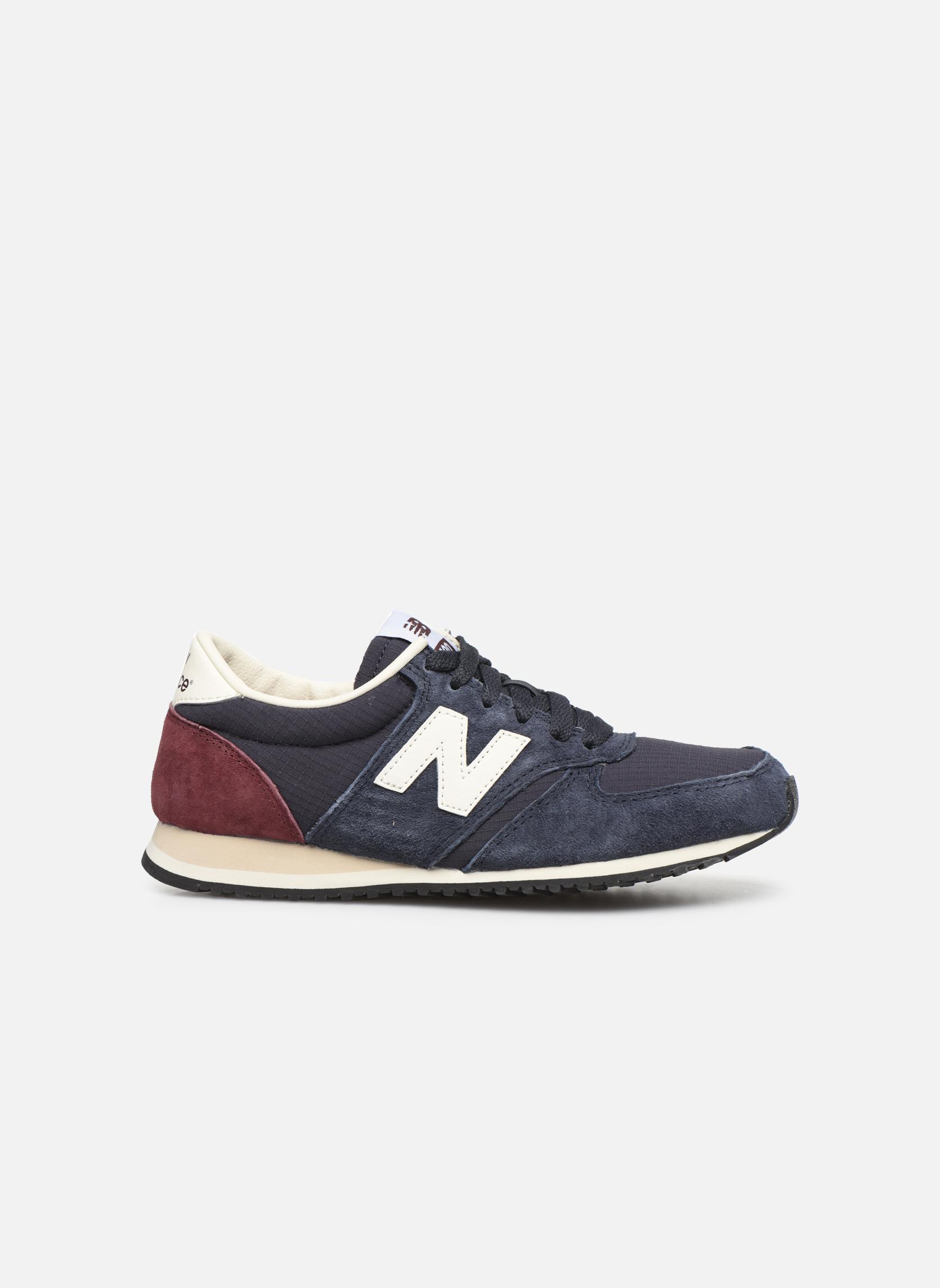 Sneakers New Balance U420 W Blauw achterkant