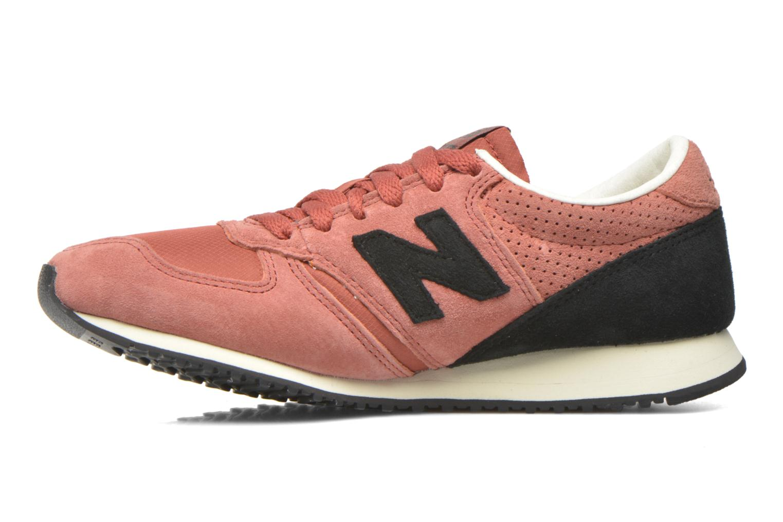 Sneaker New Balance U420 W weinrot ansicht von vorne