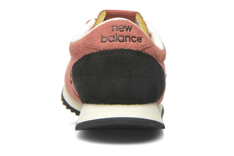 Sneaker New Balance U420 W weinrot ansicht von rechts