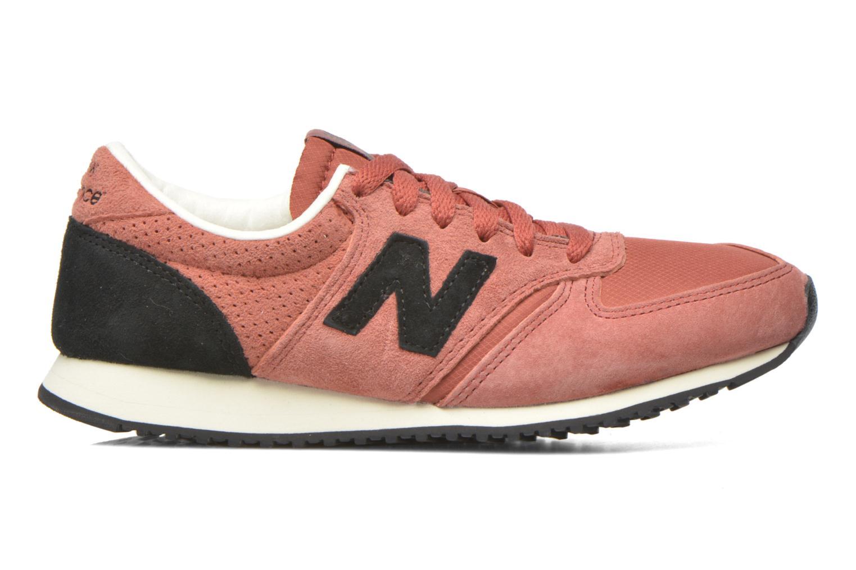 Sneaker New Balance U420 W weinrot ansicht von hinten