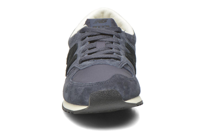Sneaker New Balance U420 W blau schuhe getragen