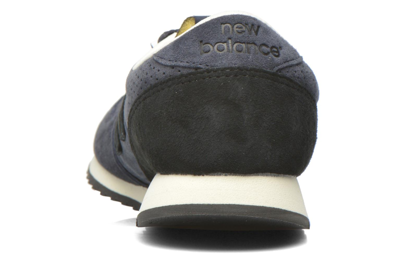 Sneaker New Balance U420 W blau ansicht von rechts