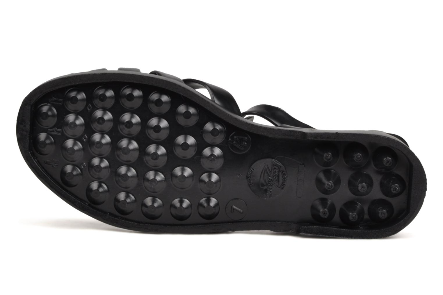 Sport shoes Méduse Sun M Black view from above