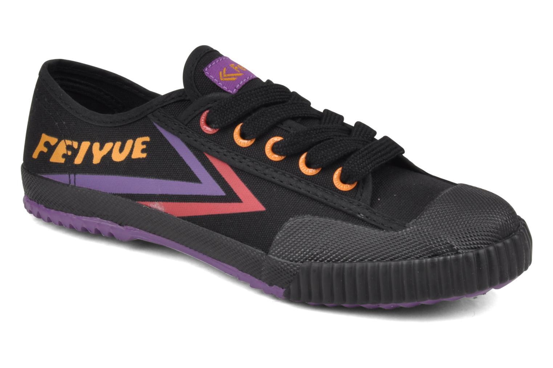 Sneakers Feiyue Fe Lo Male Canvas Zwart detail