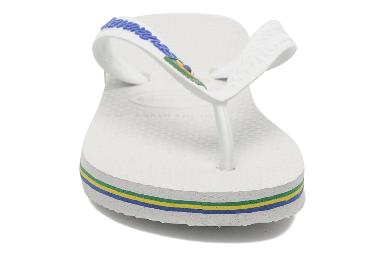 Slippers Havaianas Brasil Logo E Wit model