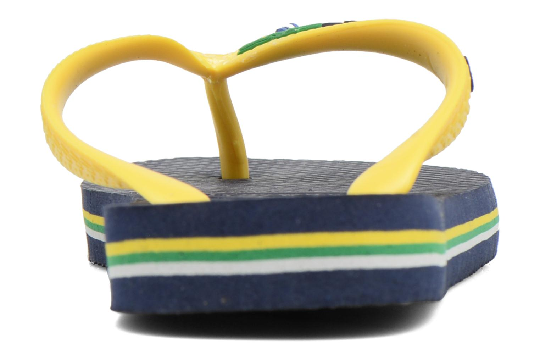 Slippers Havaianas Brasil Logo E Blauw rechts