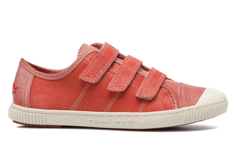 Sneaker Pataugas Bistrot rot ansicht von hinten