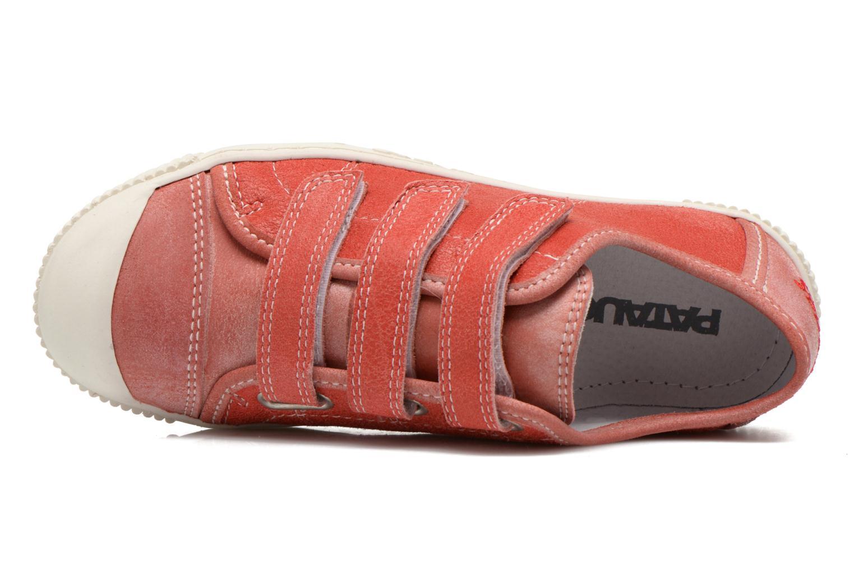 Sneaker Pataugas Bistrot rot ansicht von links