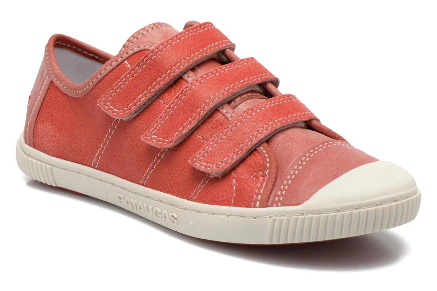 Trainers Pataugas Bistrot Red detailed view/ Pair view