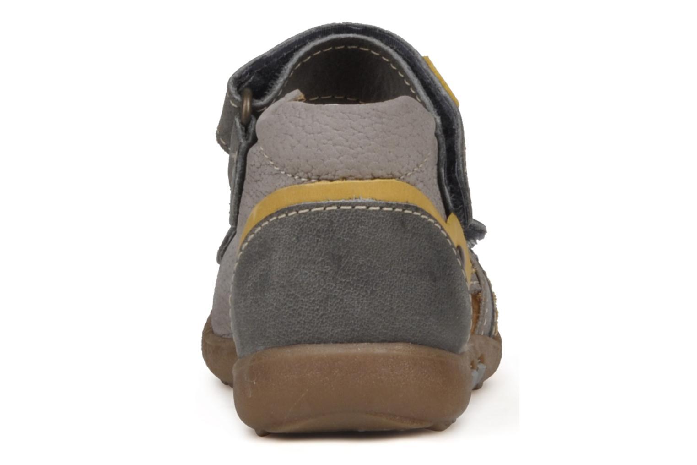 Sandalen Babybotte Tronion grau ansicht von rechts