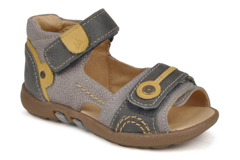 Sandales et nu-pieds Babybotte Tronion Gris vue détail/paire