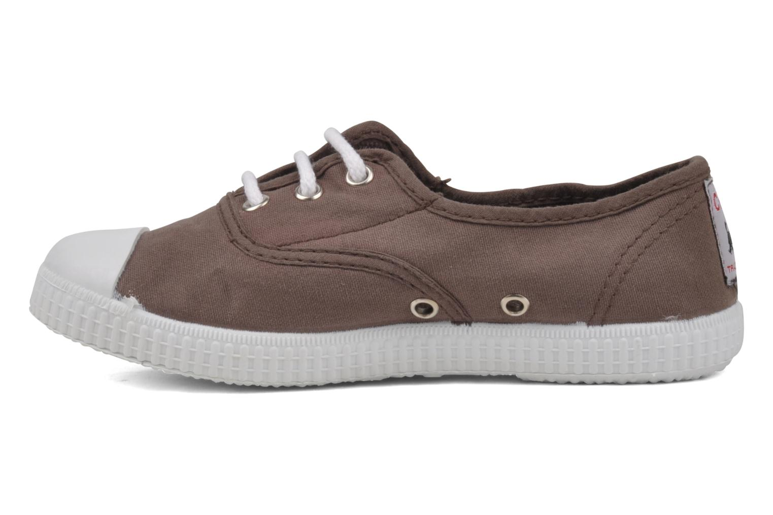 Trainers chipie bis Josepe Brown front view