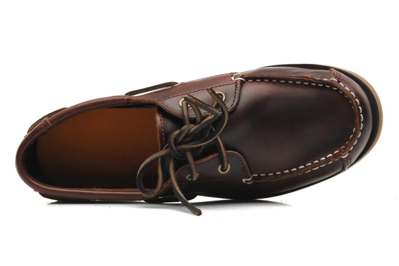 Chaussures à lacets Timberland Boat Shoe Peaks Island E Marron vue gauche