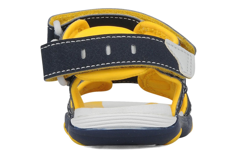 Sportschoenen Timberland Sandal Riverquest 3 Strap Blauw rechts