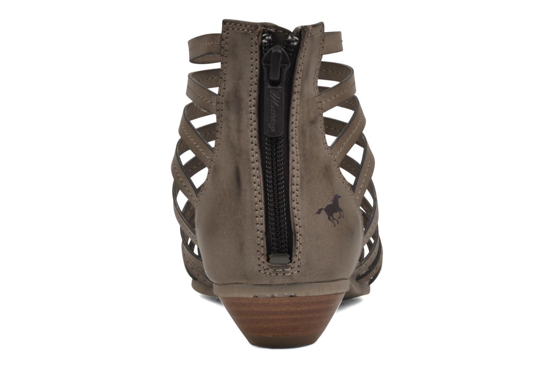 Sandalen Mustang shoes Runy beige ansicht von rechts