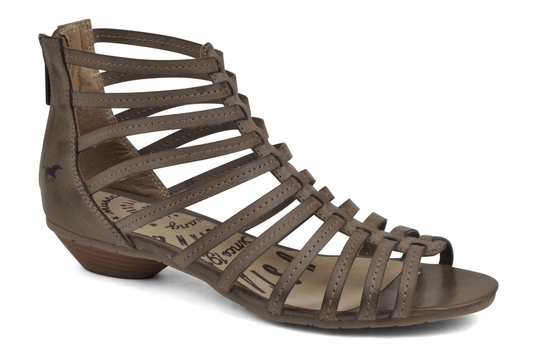 Sandales et nu-pieds Mustang shoes Runy Beige vue détail/paire