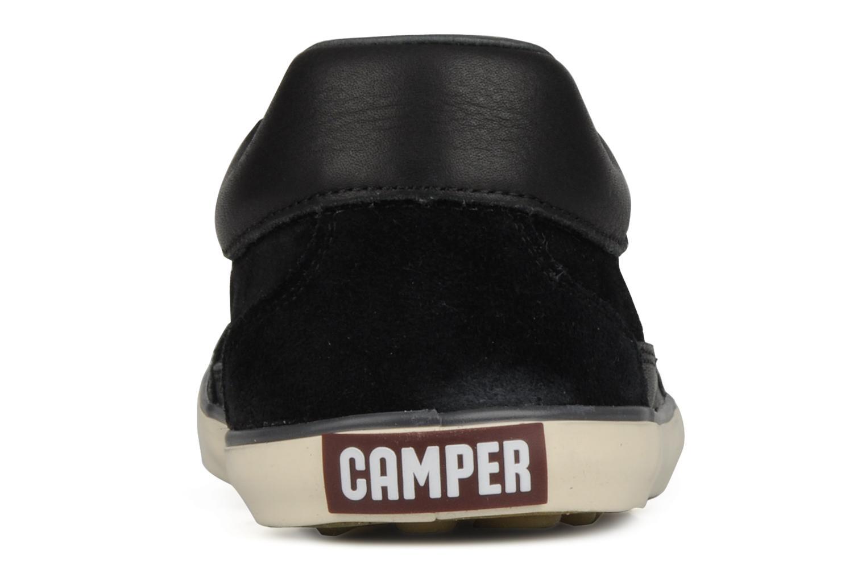 Chaussures à lacets Camper Pelotas Persil Vulcanizado 18469 Noir vue droite
