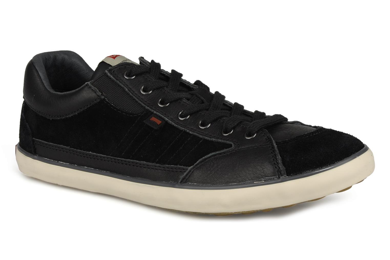 Chaussures à lacets Camper Pelotas Persil Vulcanizado 18469 Noir vue détail/paire