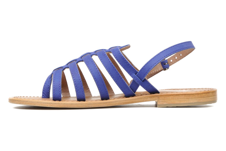 Sandales et nu-pieds Les Tropéziennes par M Belarbi Hook Bleu vue face