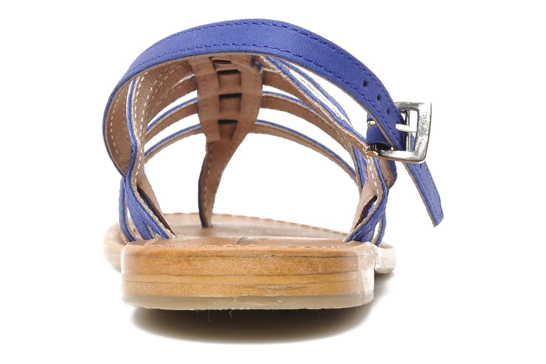 Sandales et nu-pieds Les Tropéziennes par M Belarbi Hook Bleu vue droite