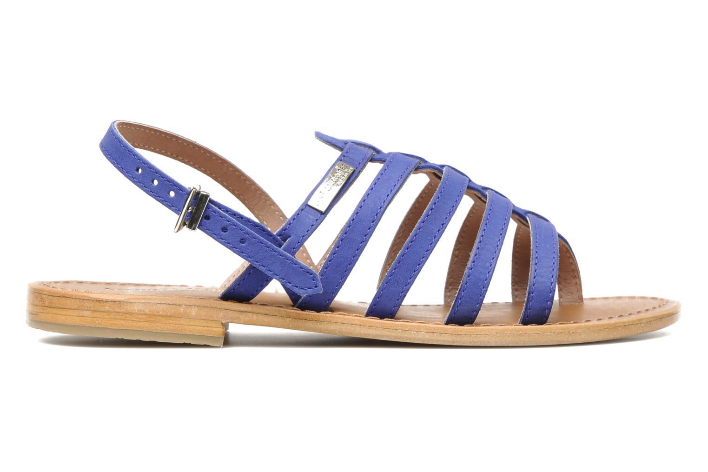 Sandales et nu-pieds Les Tropéziennes par M Belarbi Hook Bleu vue derrière