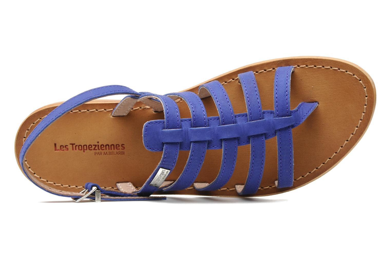 Sandales et nu-pieds Les Tropéziennes par M Belarbi Hook Bleu vue gauche