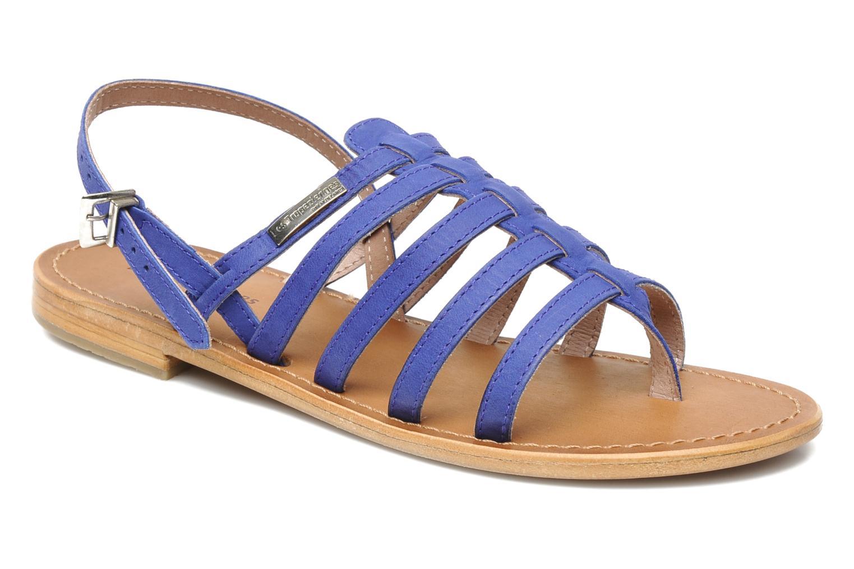 Sandales et nu-pieds Les Tropéziennes par M Belarbi Hook Bleu vue détail/paire