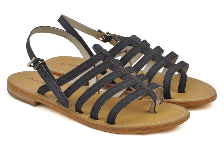 Sandales et nu-pieds Les Tropéziennes par M Belarbi Hook Noir vue 3/4