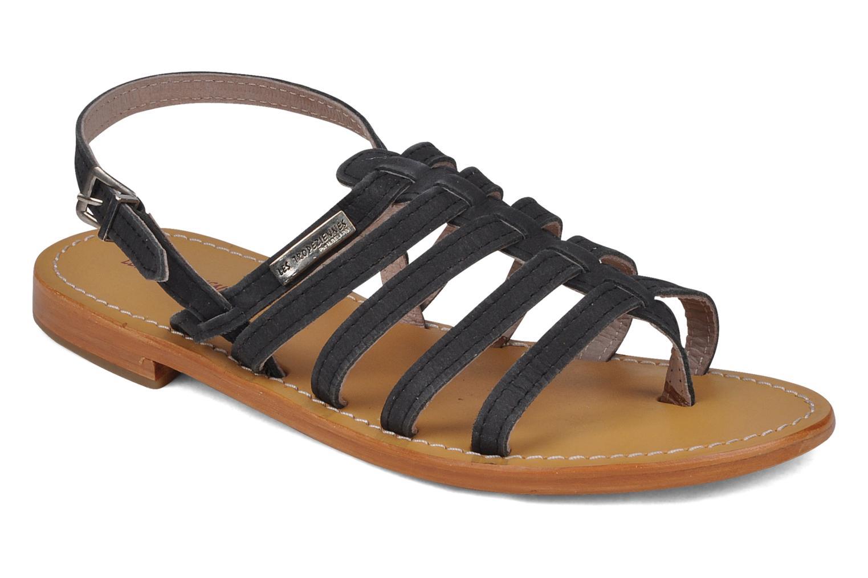 Sandales et nu-pieds Les Tropéziennes par M Belarbi Hook Noir vue détail/paire
