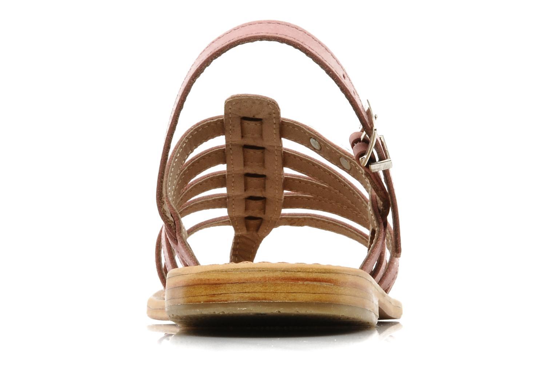 Sandales et nu-pieds Les Tropéziennes par M Belarbi Hook Rose vue droite