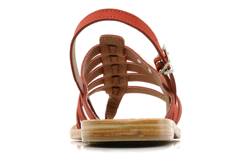 Sandales et nu-pieds Les Tropéziennes par M Belarbi Hook Rouge vue droite