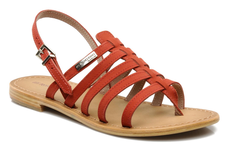 Sandales et nu-pieds Les Tropéziennes par M Belarbi Hook Rouge vue détail/paire