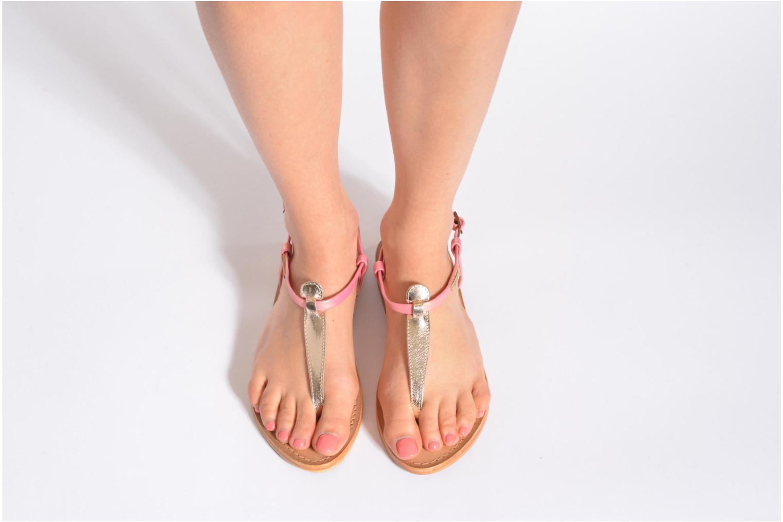Sandalen Les Tropéziennes par M Belarbi Narvil gold/bronze ansicht von unten / tasche getragen