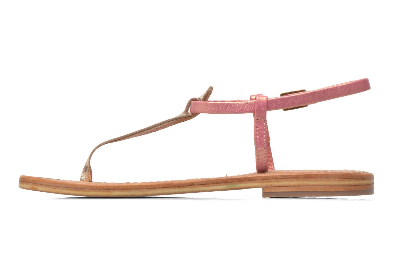 Sandales et nu-pieds Les Tropéziennes par M Belarbi Narvil Or et bronze vue face
