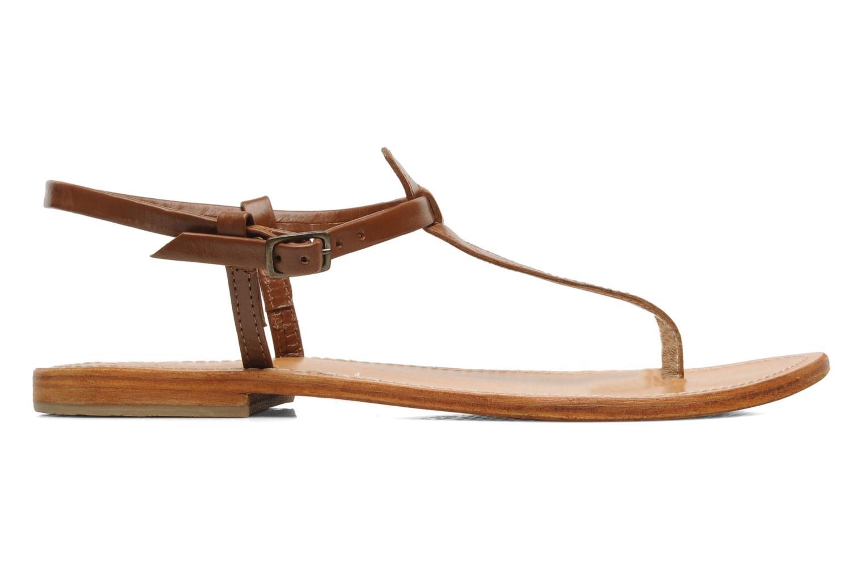Sandalen Les Tropéziennes par M Belarbi Narvil braun ansicht von hinten