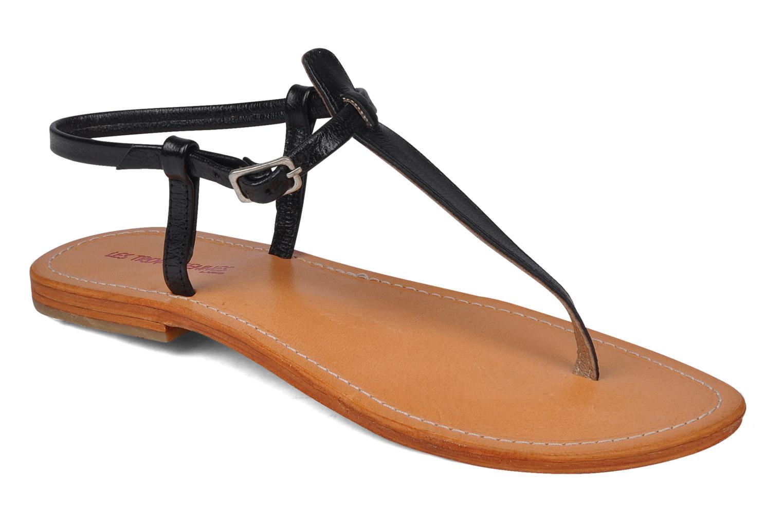 Sandales et nu-pieds Les Tropéziennes par M Belarbi Narvil Noir vue détail/paire