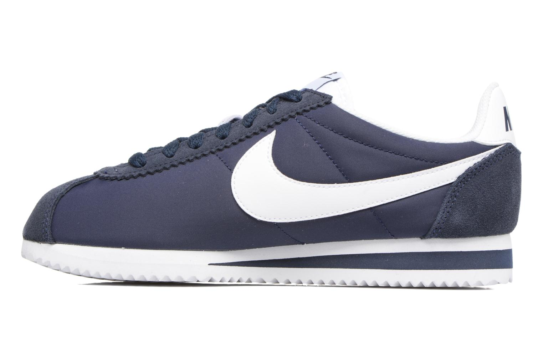 Sneaker Nike Wmns Classic Cortez Nylon blau ansicht von vorne