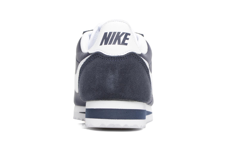 Baskets Nike Wmns Classic Cortez Nylon Bleu vue droite