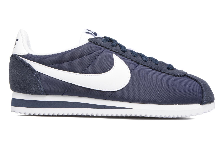 Sneaker Nike Wmns Classic Cortez Nylon blau ansicht von hinten
