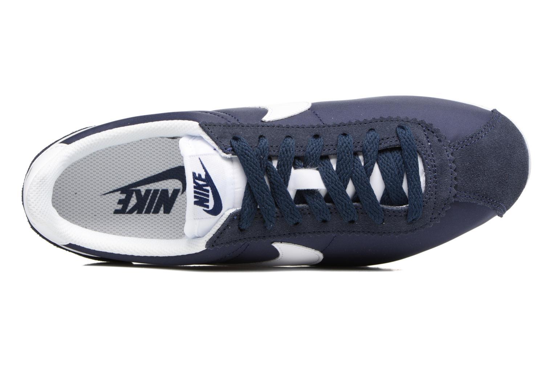Sneaker Nike Wmns Classic Cortez Nylon blau ansicht von links