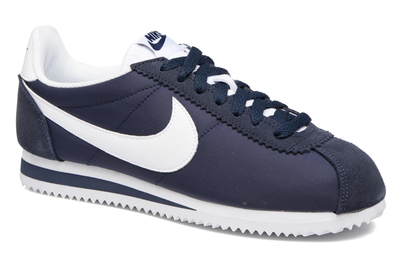 Sneaker Nike Wmns Classic Cortez Nylon blau detaillierte ansicht/modell